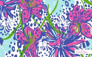 Background Desktop Lilly Pulitzer Print