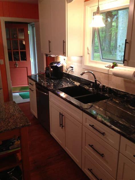 kraftmaid deveron maple  canvas camp kitchen henderson