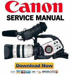 Canon Xl2   Xl2e  Pal  Service Manual  U0026 Repair Guide