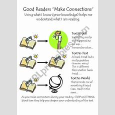 Making Connections In Reading  Esl Worksheet By Divagirl