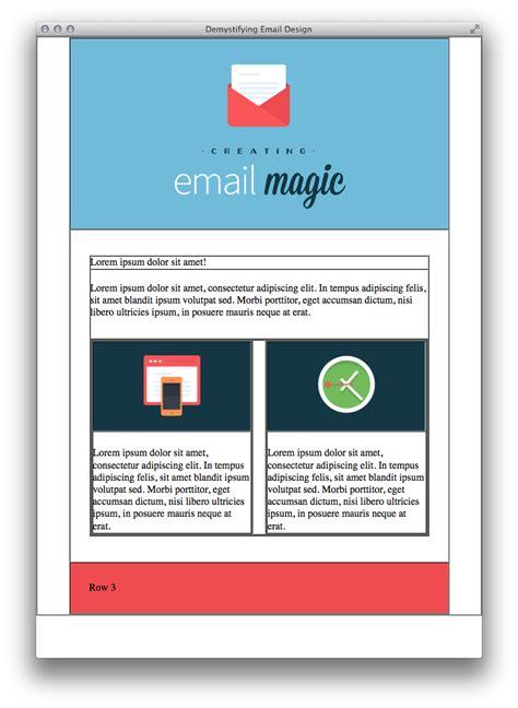 construye desde cero una plantilla de email en html