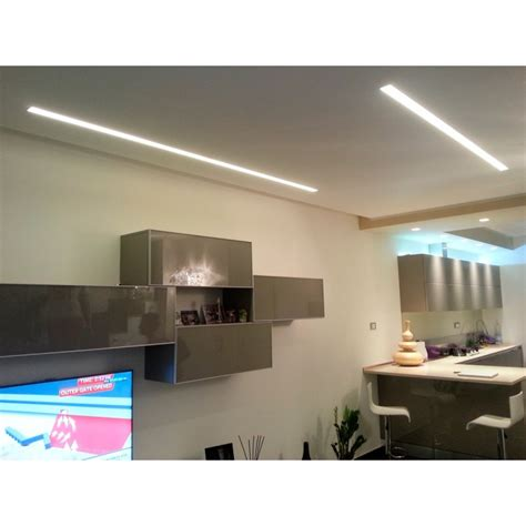 led floor plasterboard profile lighting centro edile