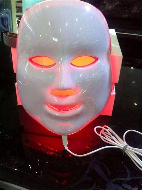 JMF 7in1 Photon Facial Mask LED Light Therapy Skin
