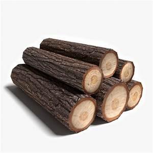 3d model wood logs  Wood