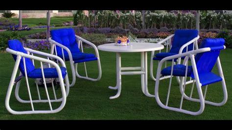 elegant pvc patio furniture design youtube