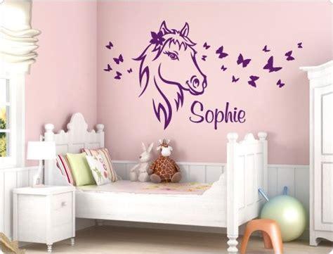 Kinderzimmer Wandgestaltung Pferde by Die Besten 25 Wandtattoo Pferd Ideen Auf