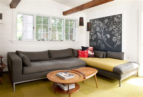 chalkboard walls  decors   living room home