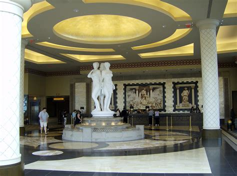 Caesars Palace Hotel Front Desk by Caesars