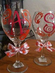 Paisley design and letters for wine glasses vinyl decals for Where to buy vinyl letters for wine glasses
