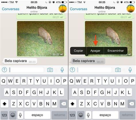 como apagar uma mensagem individual do whatsapp pelo smartphone dicas e tutoriais techtudo