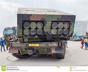 Military MLRS Rocket Launcher Editorial Photo - Image ...