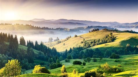 gambar pemandangan alam pegunungan
