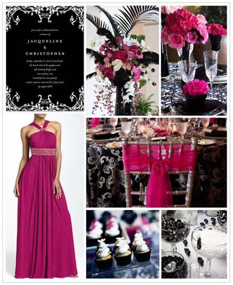 23 best images about fuchsia silver and white wedding inspiration on paper lanterns