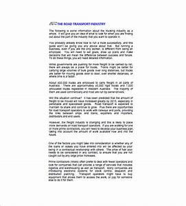 business plan template australia business letter template With business plan template for logistics company