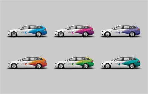 Car Customizer Real by By Interbrand Australia For Telstra Vehicle Signage