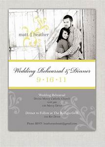 wedding rehearsal dinner invitation With wedding rehearsal email invitations