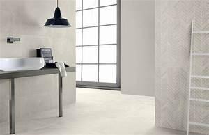 carrelage de salle de bain aspect beton cire clair east With carrelage salle de bain clair