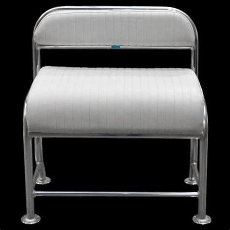 Boat Cushion Vinyl Bench Seat by Custom 38 Inch Aluminum Vinyl Boat Leaning Post Seat Frame