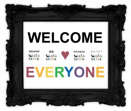 WELCOME ♥ EVERYONE • HAFUBOTI