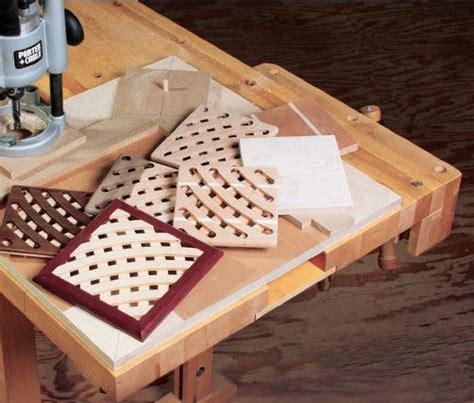 build  trivet   simple trammel jig diy