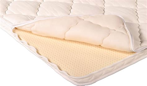 organic pillow topper talalay latex topper