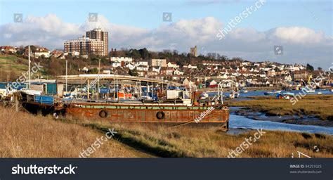Boat House Leigh On Sea by Leigh On Sea Essex England Stock Photo 94251025 Shutterstock