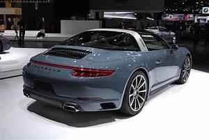 Porsche 911 Targa : detroit 2016 porsche 911 targa 4 gtspirit ~ Medecine-chirurgie-esthetiques.com Avis de Voitures