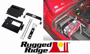 Rugged Ridge Dual Battery Trays Jeep Wrangler Tj Yj Cj