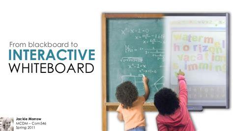 blackboard  interactive whiteboard