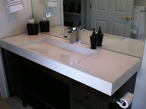Hand Crafted Concrete Ramp Sink By Béton Studio