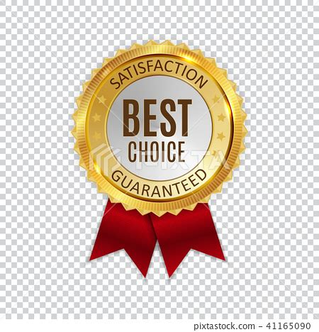Best Choice by Best Choice Golden Shiny Label Sign Vector Illustration