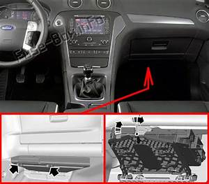 Fuse Box Diagram  U0026gt  Ford Mondeo  Mk4  2010
