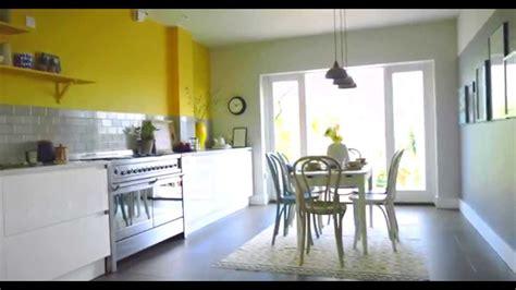 kitchen ideas create  yellow grey colour scheme