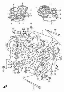 Crankcase For 1998 Suzuki Vz800