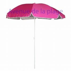 Parasol De Plage Pas Cher : parasol de plage anti uv 50 fuschia 180 cm parasol anti ~ Dailycaller-alerts.com Idées de Décoration
