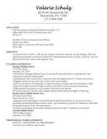 student resume exles no experience reading teacher resume sales teacher lewesmr
