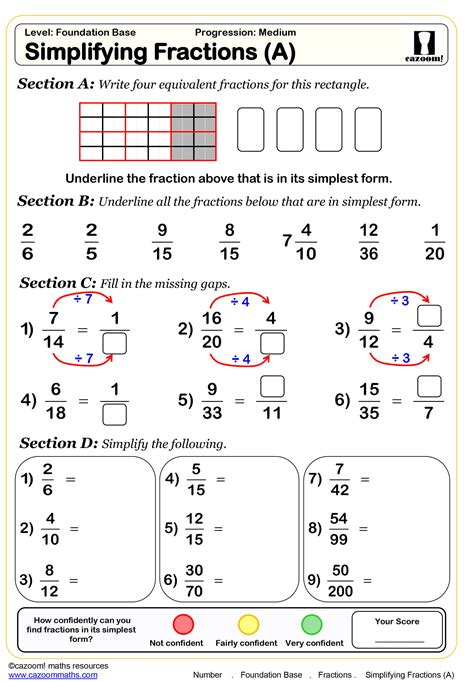 grade fractions worksheets db excelcom