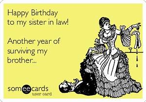 Happy Birthday to my sister in law! Another year of ...