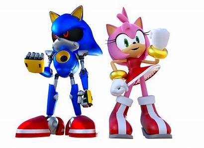 Sonic Amy Metal Render Happy Birthday Am