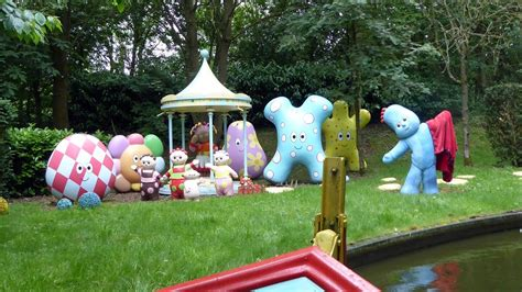 in the garden magical boat ride at cbeebies land alton towers youtube