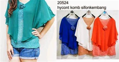 Model Blus Wanita Dewasa Gemuk 11 Gambar Model Baju Blus Wanita Modern Terbaru 2016