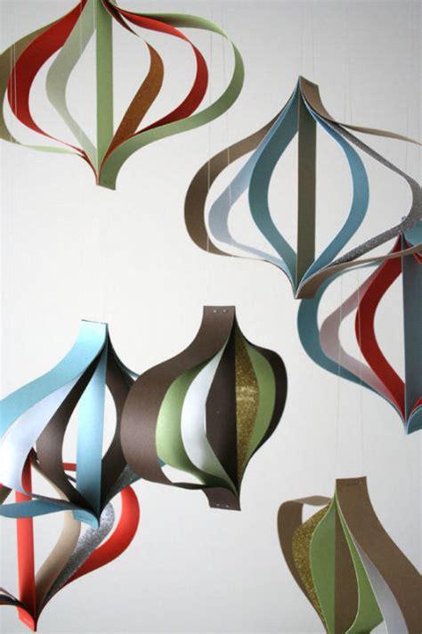 modern paper ornaments design sponge
