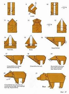 Bear Origami Instructions  U2013 The Diary