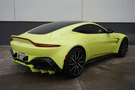 2019 Aston Martin Vantage by Used 2019 Aston Martin Vantage For Sale 169 900