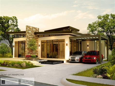 bungalow designs modern house philippines house plans