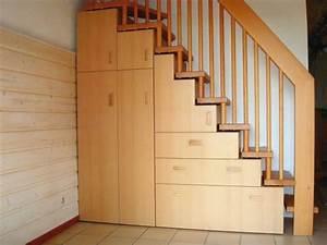 Placard Escalier :  ~ Carolinahurricanesstore.com Idées de Décoration