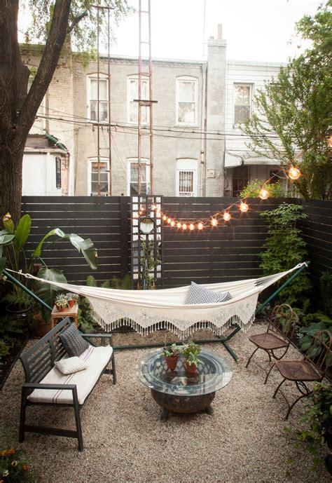 pinterest nuggwifee apartment backyard lighting