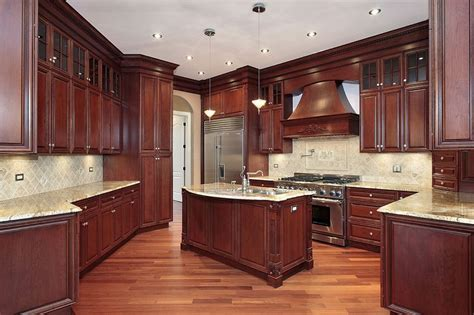 mahogany wood kitchen cabinets mahogany kitchen cabinets kitchen cabinet pictures 7327