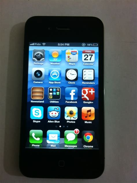 iphone 4 16gb for iphone 4 black 16gb locked to fido 280