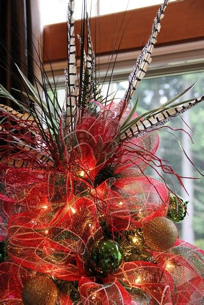 feather christmas tree topper add feathers to your decor feather out